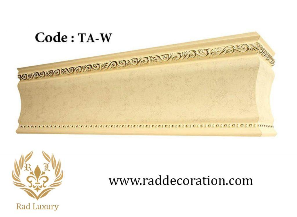 گلویی تاج لوکس و کلاسیک 15 سانت مدل TA-W