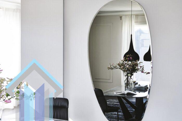 آینه قوسی مدرن بزرگ
