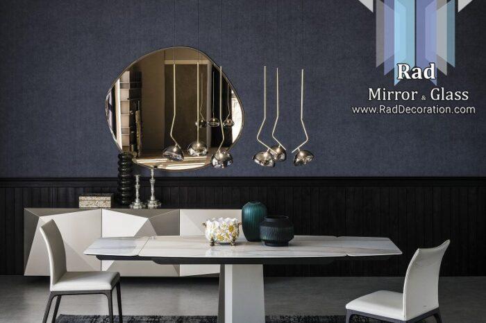 آینه قوسی مدرن متوسط